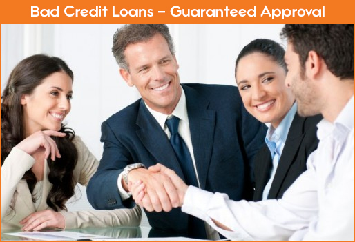 Bad Credit Payday Loans - Guaranteed Approval by Direct Lenders