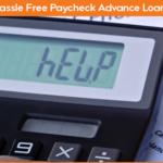 Paycheck Advance Loans