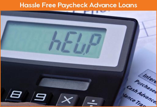 Payckeck Advance Loans