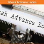 Check Advance Loans