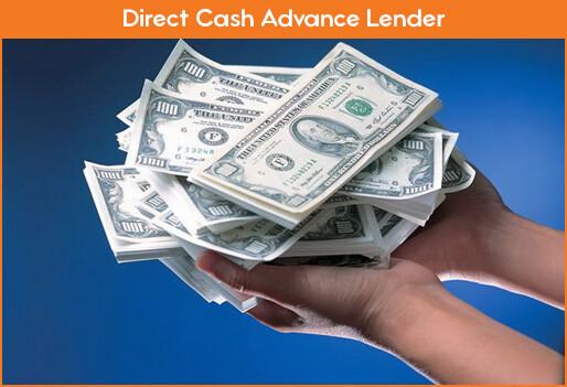 Direct Cash Advance Lenders